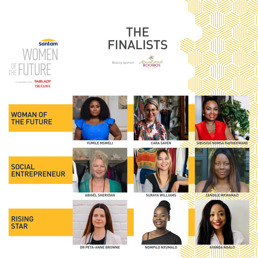 Women Of The Future Awards 2021 Finalists
