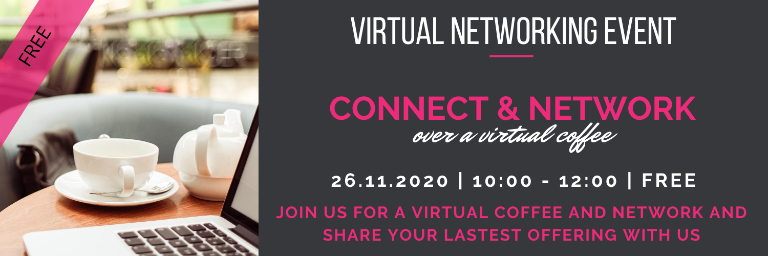 26 November Network and Connect Over A Virtual Coffee