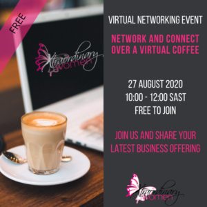 27 August Network & Connect Over a Virtual Coffee