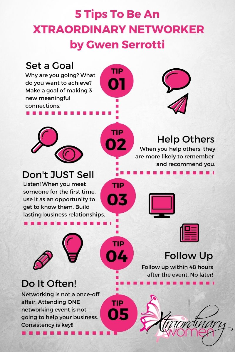 5 Tips To be an Xtraordinary Networker