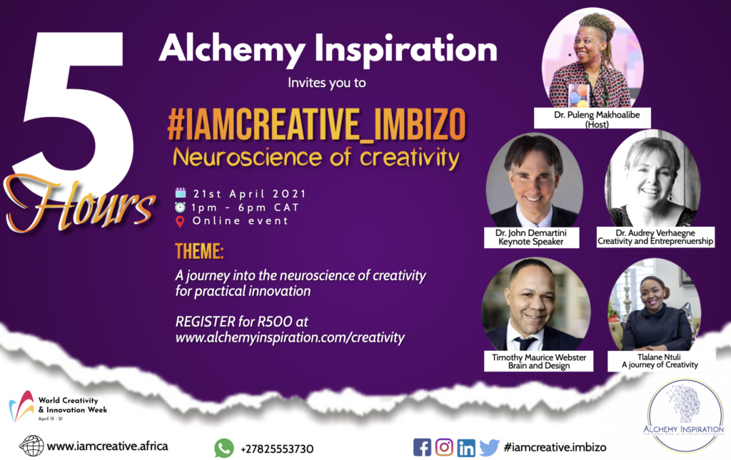 The 2021 #IamCreative_Imbizo: Turning Innovation Theory Into Reality