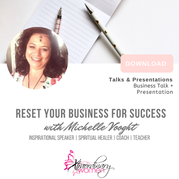 Reset Your Business for Success Talk