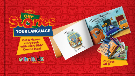 Wimpy Partners with Ethnikids to Launch the Multilingual 'African Folktale Collection' Book Set