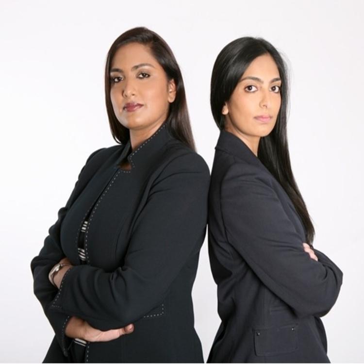 Zahra and Nadia Rawjee